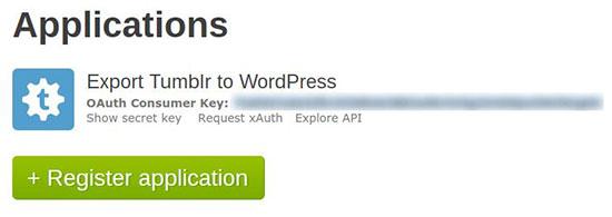 Export Tumblr To WordPress