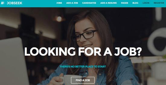 Jobseek homepage