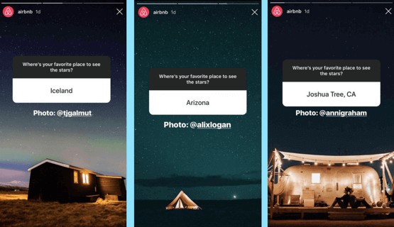 Airbnb Questions On Instagram Stories