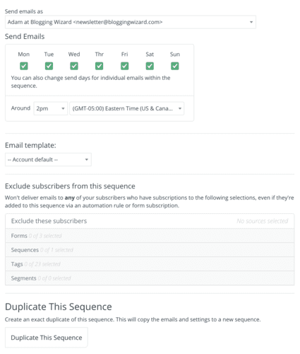 05 Customizing Settings For Your Sequence