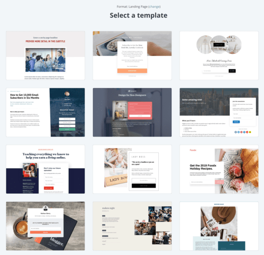 14 Landing Page Templates