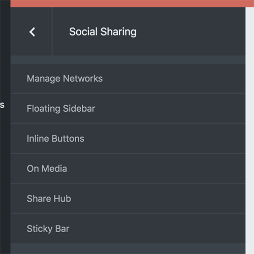 05 Social sharing - share button types