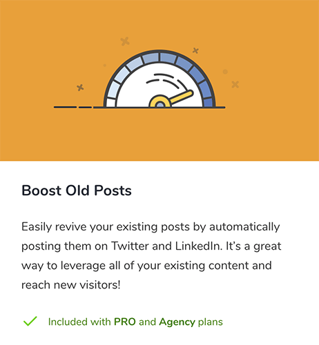 22 Boost Old Posts add on