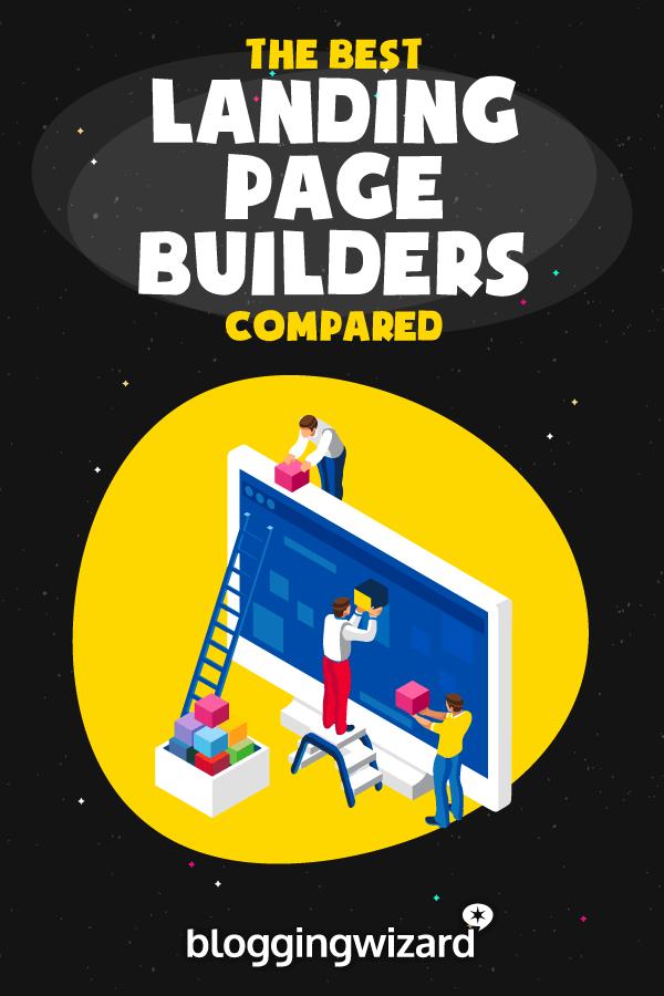 Best landing page builder in comparison
