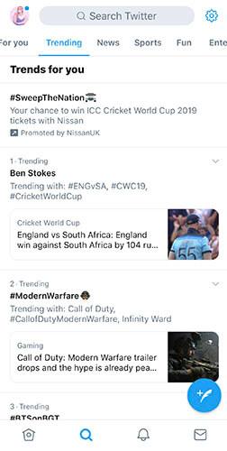 Jump on the trending bandwagon