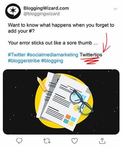 Proofread your tweets before sending
