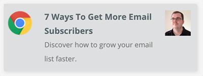 Send updates via web browsers