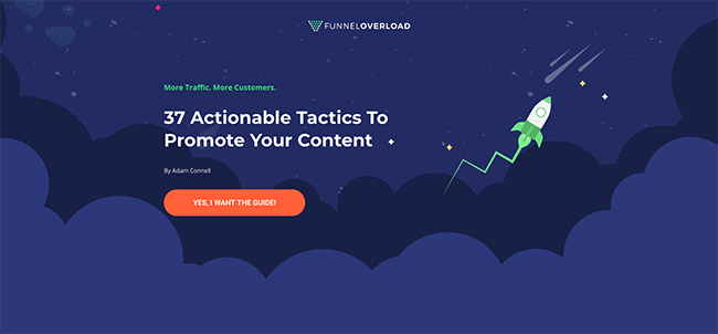 Funnel Overload Landing Page