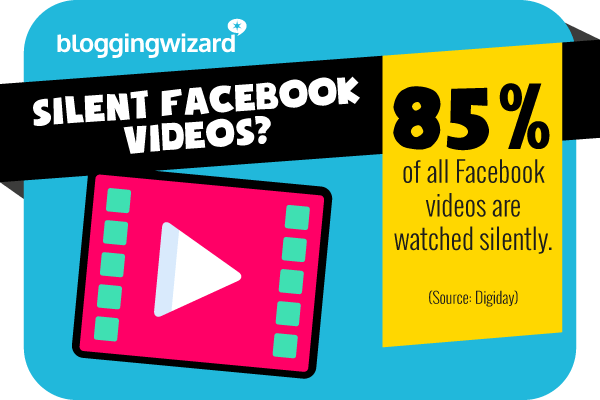8 Most videos are watched silently
