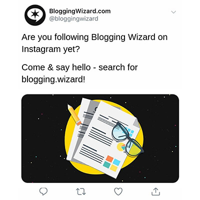 18.3 Search for Blogging Wizard