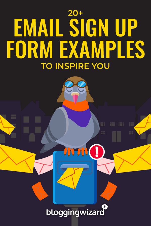 Email Sign Up Forms You Can Take Design Inspiration From
