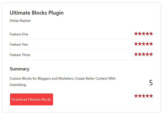 ultimate blocks example