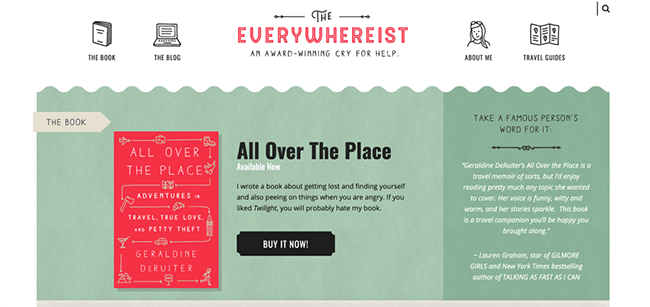 The Everywhereist Homepage