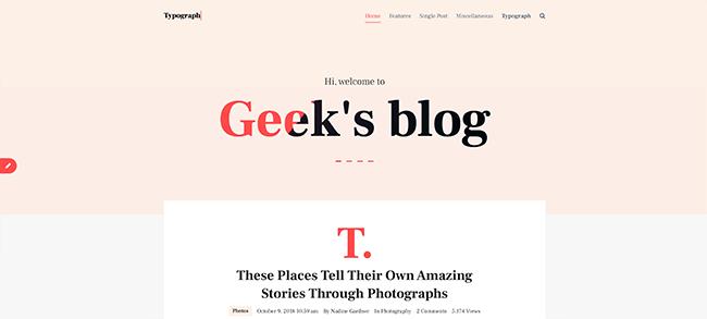 10 Typograph
