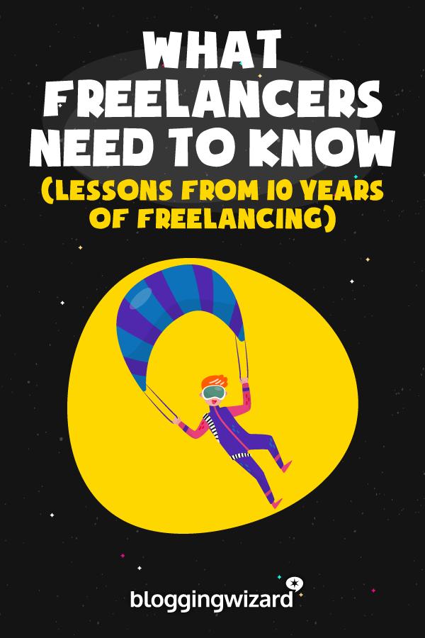 Freelancers Lessons