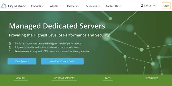 liquidweb dedicated hosting