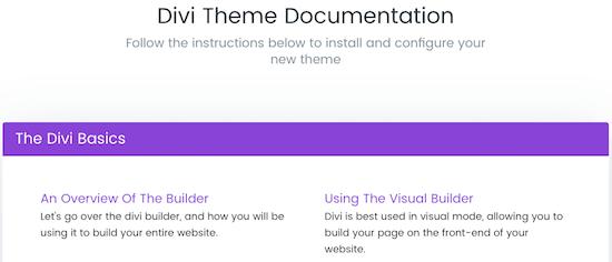 2h Divi Theme Documentation
