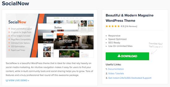 3f MyThemeShop Social Now Theme