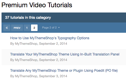 3i Premium Video Tutorials