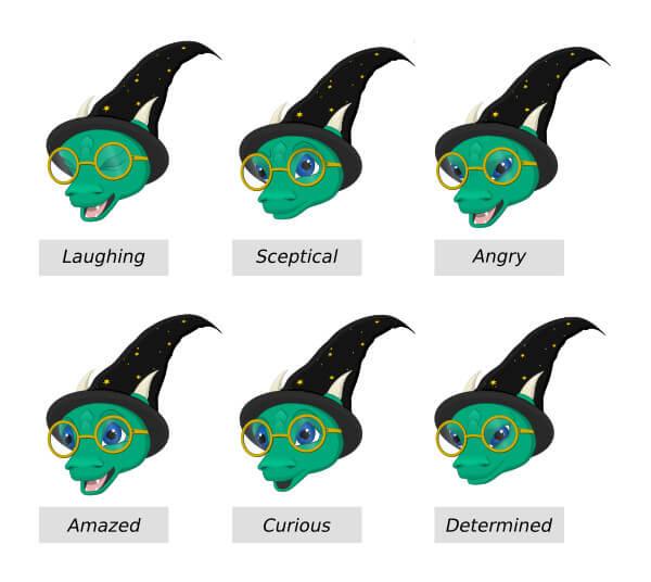 8 emozioni falkor
