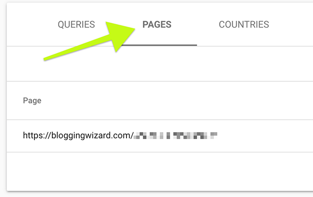 Google Search Console - collect data into a spreadsheet