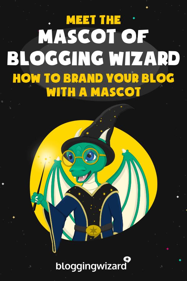 Meet The Blogging Wizard Mascot