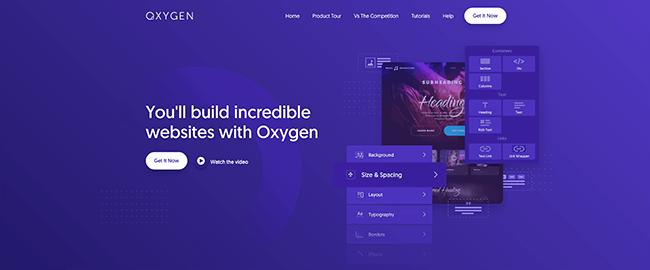 Oxygen Theme Builder