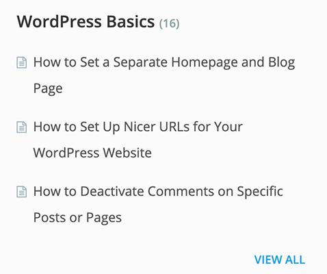 thrive kb wordpress basics