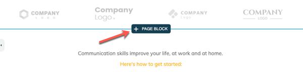 blocco di pagine