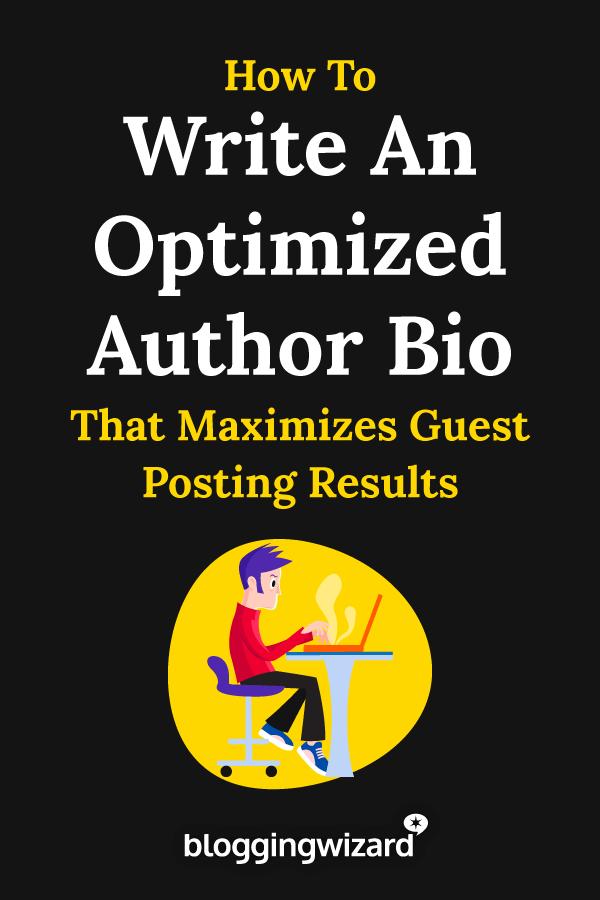 How To Write An Optimized Author Bio