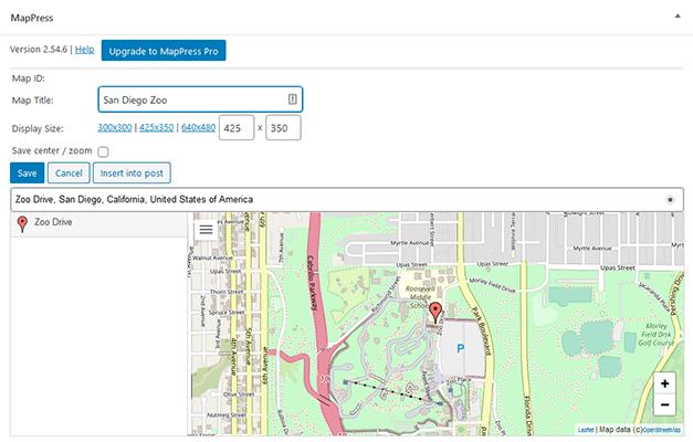 add new map in mappress