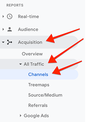 Navigation - Acquisition All Traffic