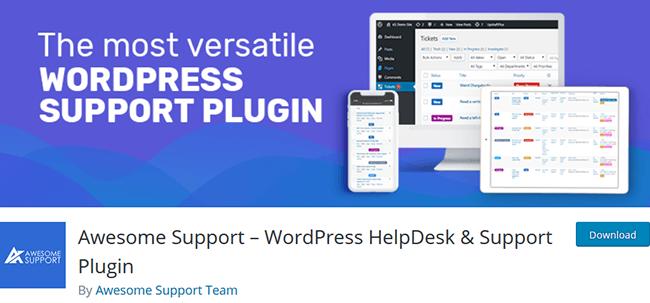 wordpress helpdesk and support plugin