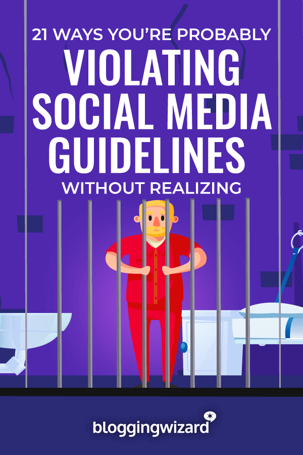 Violating Social Media Guidelines
