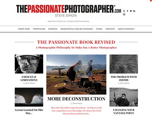 The Passionate Photographer - Tagline