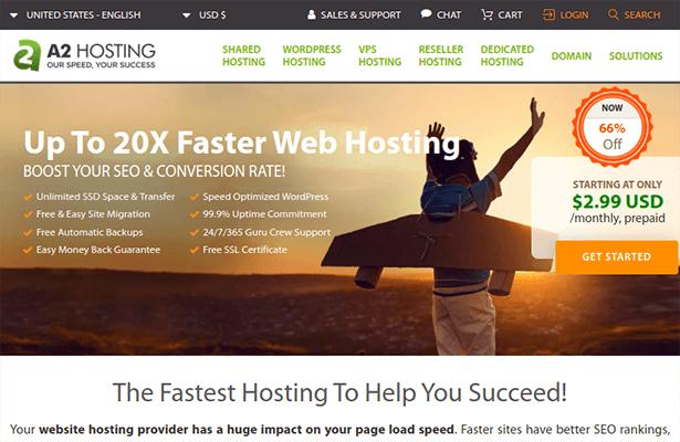 a2 hosting shared hosting