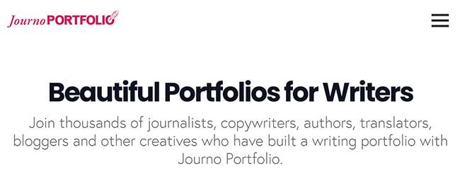 journo portfolio