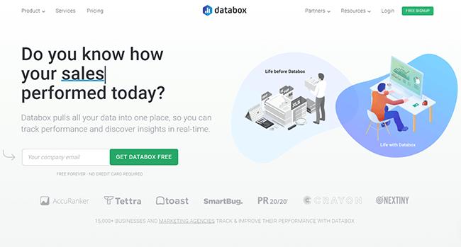 Databox Homepage