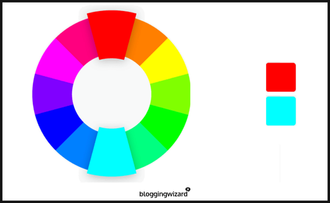 Strong Contrast - Color Wheel
