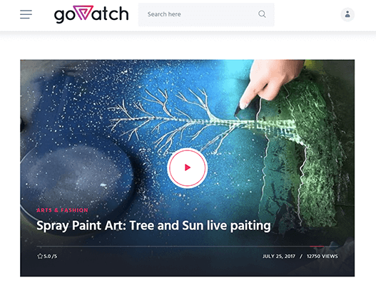 goWatch - Video Theme