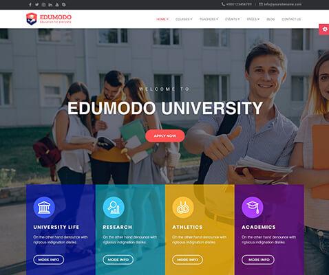 Edumodo WordPress Theme Demo