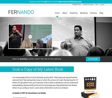 Fernando WordPress Theme Demo