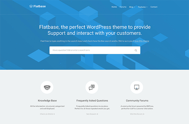Flatbase Demo Example