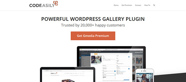 Gmedia Photo Gallery Homepage