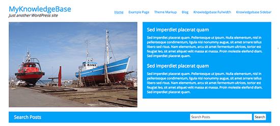 MyKnowledgeBase Knowledge Base WordPress Themes