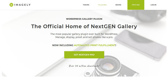 NextGen Gallery Homepage