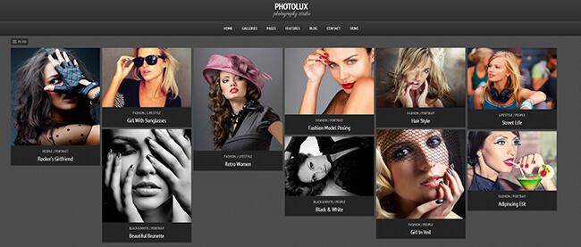 Photolux Demo Example