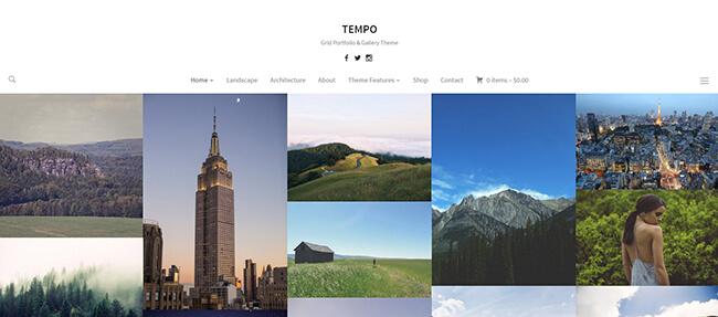 Tempo Demo Example