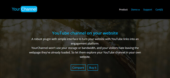 YourChannel Homepage