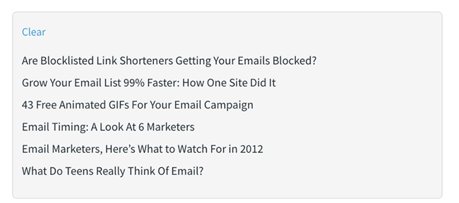 CRO Statistic - clear email subject lines